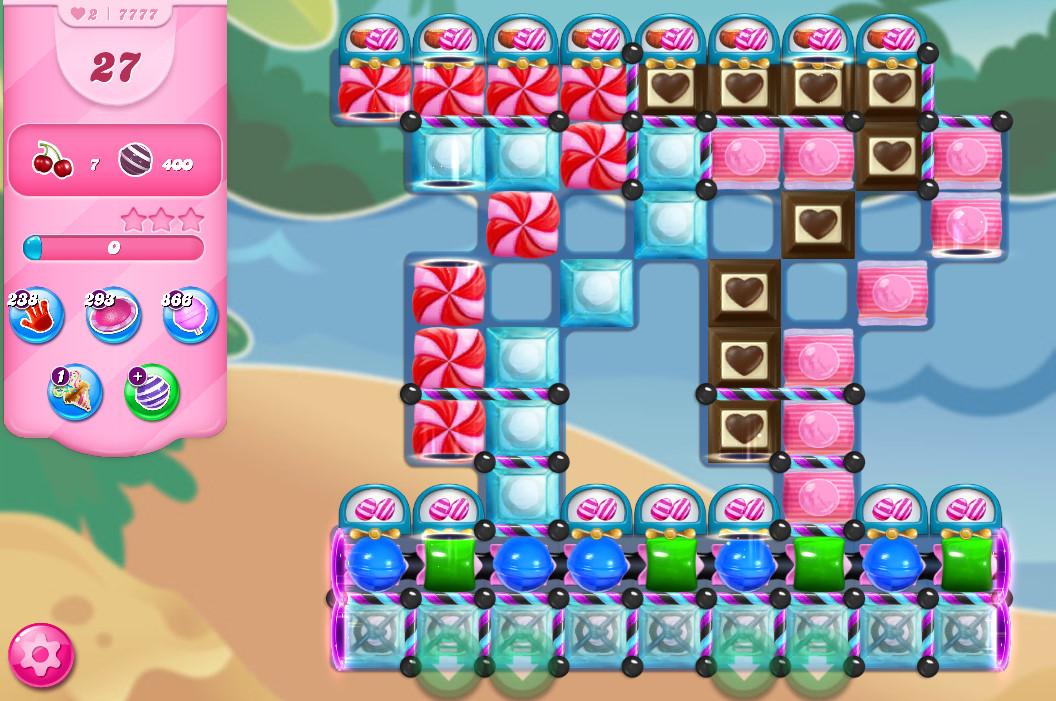 Candy Crush Saga level 7777