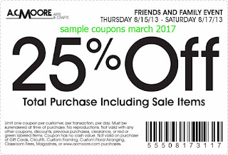 AC Moore coupons for march 2017