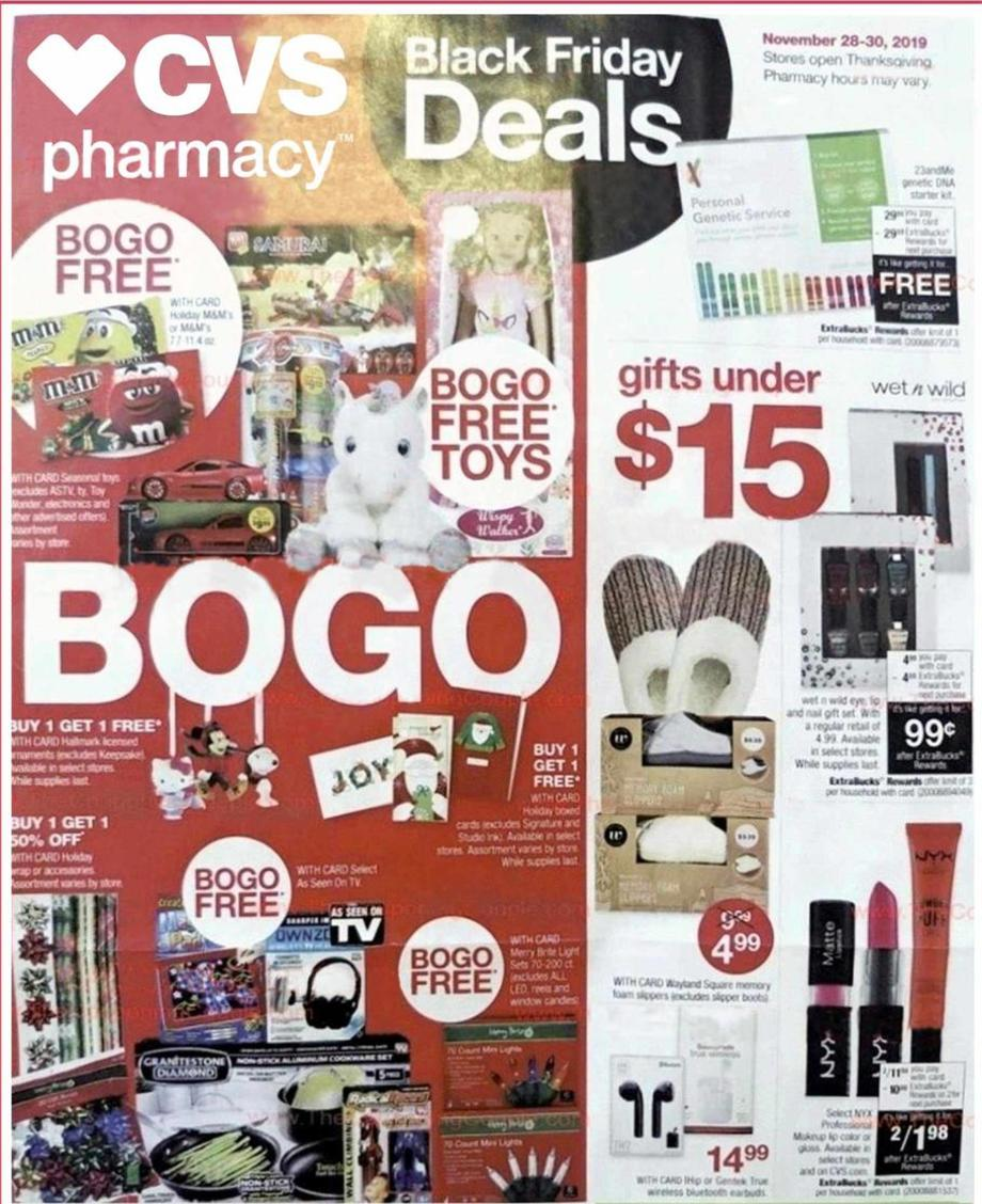 Cvs  Pharmacy Black Friday 2019