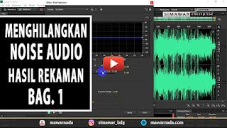 Memperbaiki noise audio