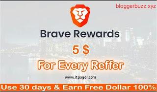 Brave rewards BAT