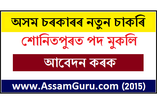 District and Sessions Judge, Sonitpur Job 2020