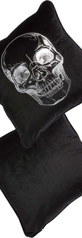Levtex Skull Accent Pillow