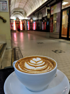 2 days in Melbourne Australia: Coffee in Cathedral Arcade