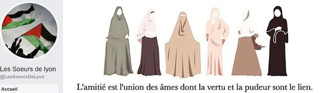 "Page Facebook des ""soeurs de lyon"""