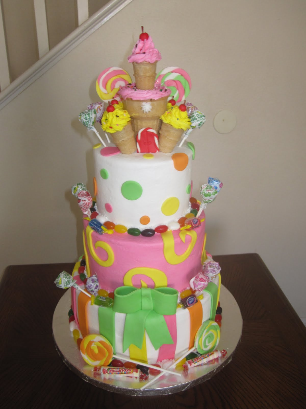 Ms Cakes Candyland Cake