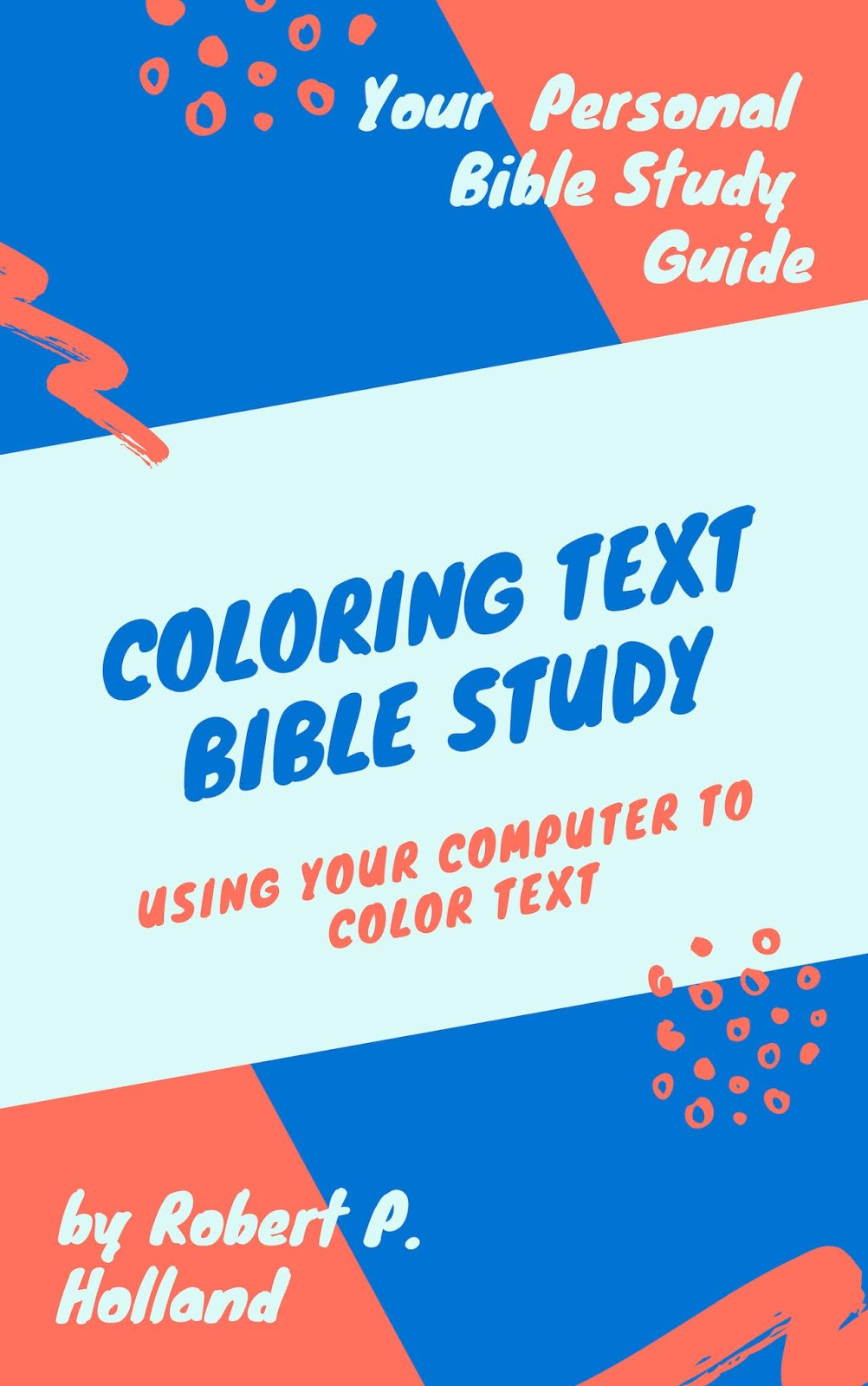 coloring text bible study