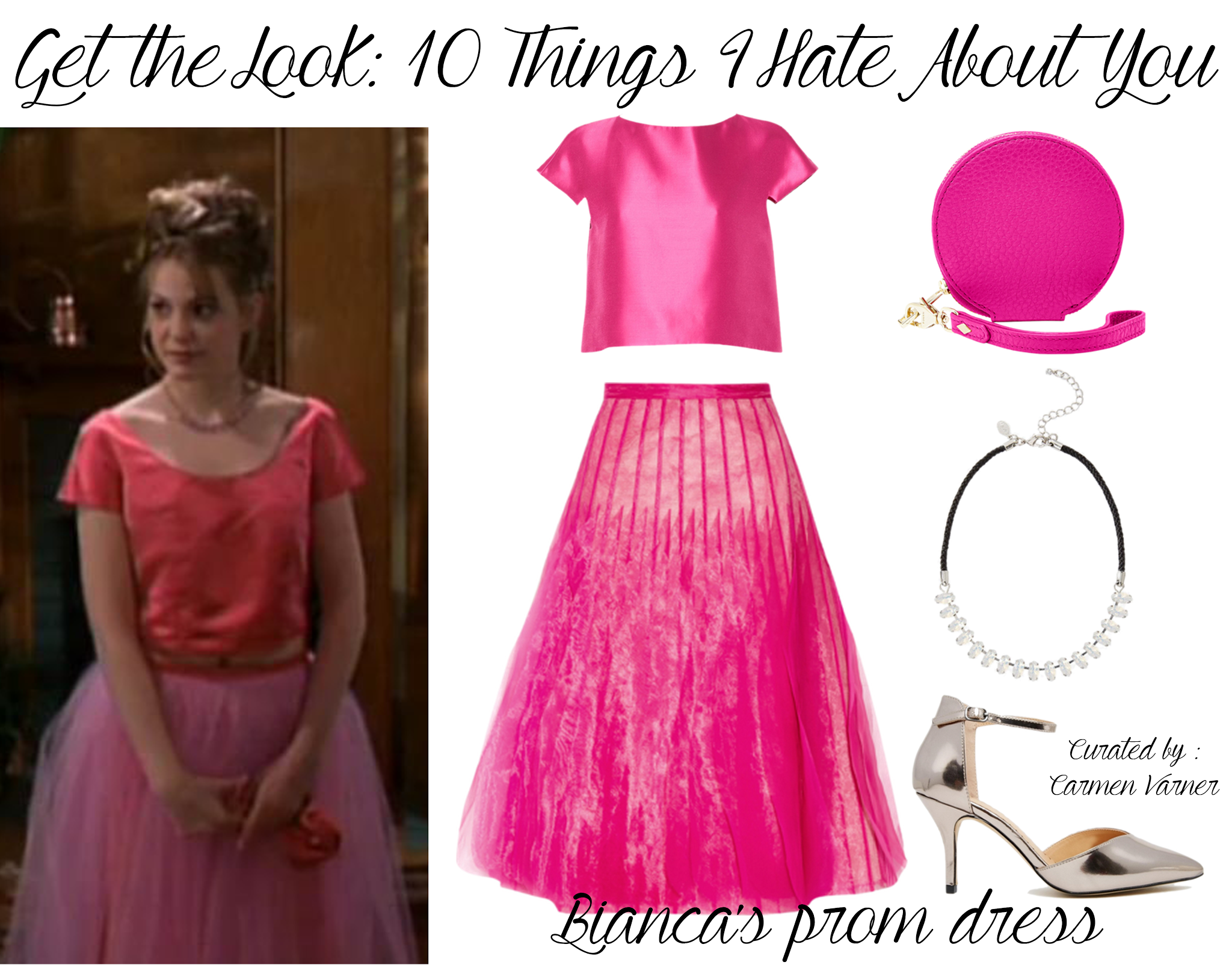 Get the Look: Bianca 10 Things I Hate About You Prom Dress