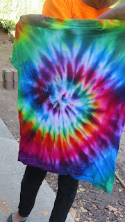 Beautiful bright tie dye shirt