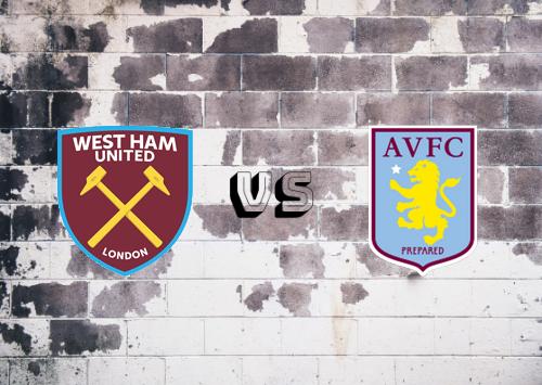 West Ham United vs Aston Villa  Resumen y Partido Completo