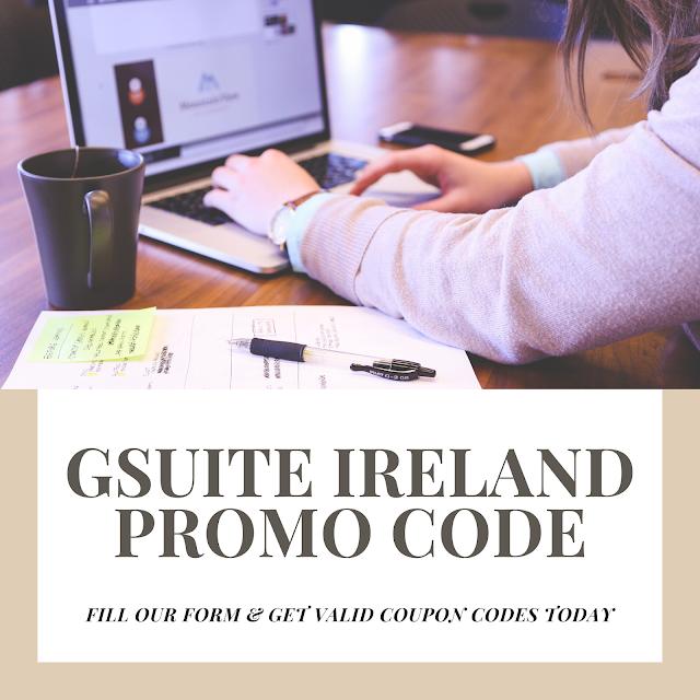 Verified GSuite Promo Code Ireland