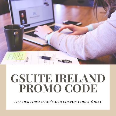 Verified GSuite Promo Code Ireland (Basic & Business)