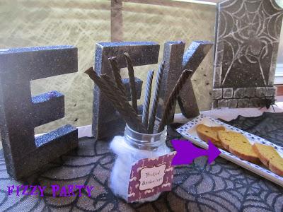 Spider party, Halloween, pumpkin bread, dessert table