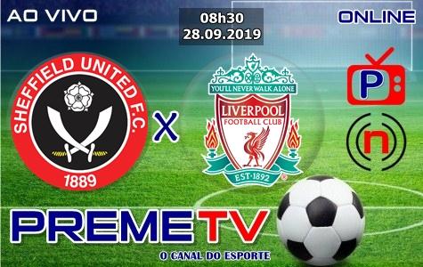 Sheffield United x Liverpool Ao Vivo