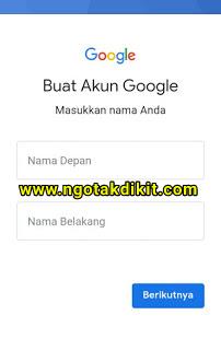 Cara Membuat Akun Baru Google Tanpa Verifkasi Nomor Hp Gmail