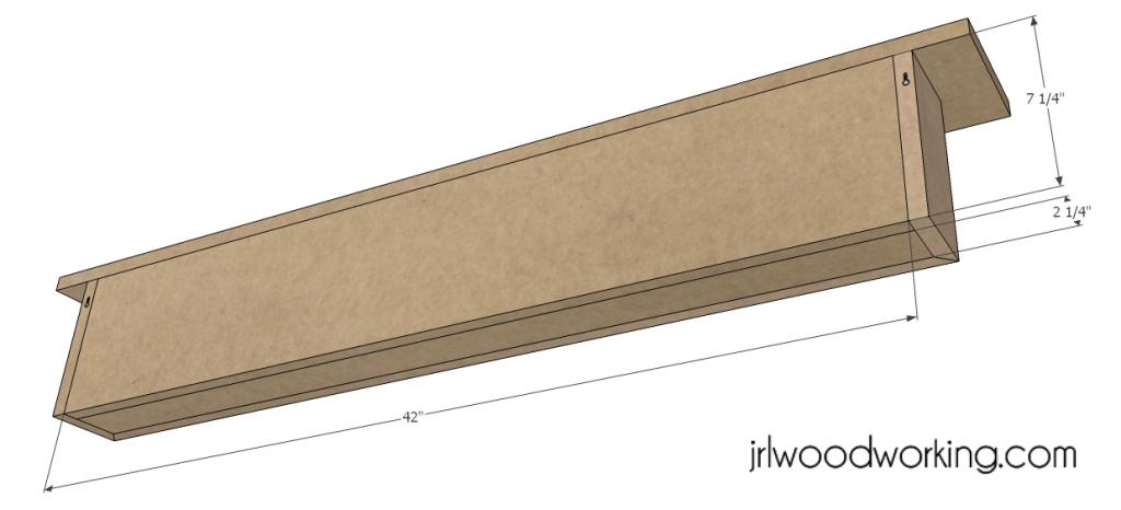 diy fireplace mantel shelf plans – woodguides