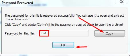 rar recover file