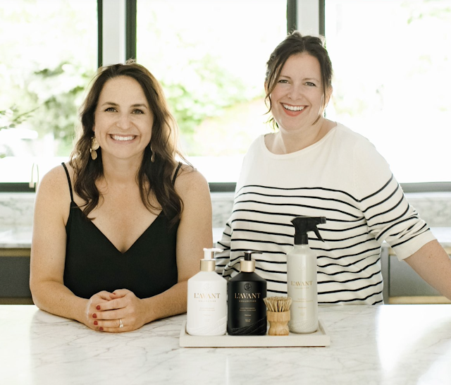 The Founders of L'AVANT Collective Kristi and Lindsay