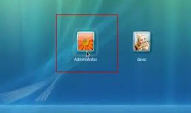 المستخدمين في الكمبيوتر و التبديل بينهم