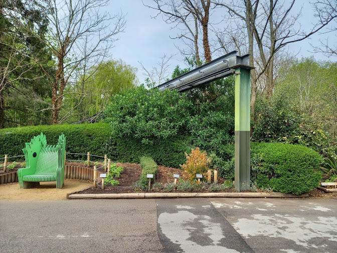 Monorail at Chester Zoo