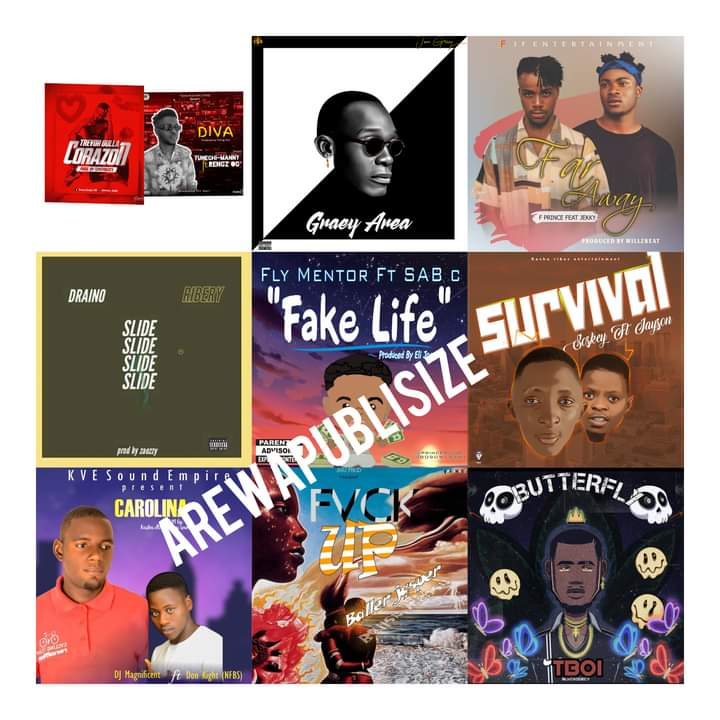 [Music chart] Arewapublisize Top 10 March 2021 songs - Hosted by Hypeman Vizzy #Arewapublisize