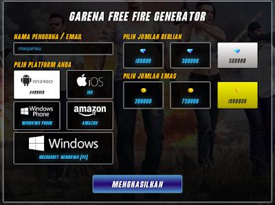 Begini cara mendapatkan diamond Free Fire gratis dengan situs generator diamond terbaru di appsmob.info.