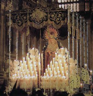 Reportaje Fotográfico Extraordinaria Virgen de la Estrella de Sevilla 12/06/2012