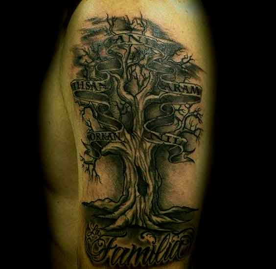 Family Tree Tattoo Ideas: 45 Heart Warming Family Tattoos Designs And Ideas