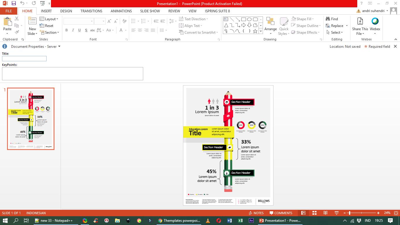 2 Cara Free Download Template Powerpoint Terbaik Yang Sudah