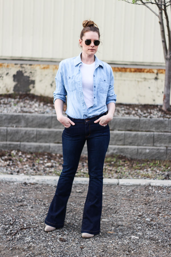 How to wear denim on denim- Pardon My French