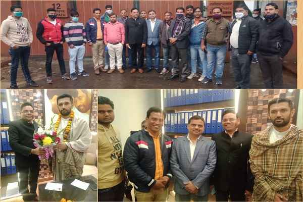 vinod-chaudhary-haryana-ljp-vp-meet-mp-chirag-paswan