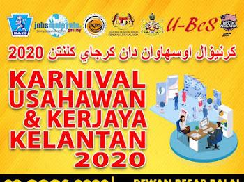 Karnival Usahawan & Kerjaya Kelantan 2020