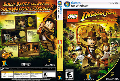 Jogo LEGO Indiana Jones - The Original Adventures PC DVD Capa