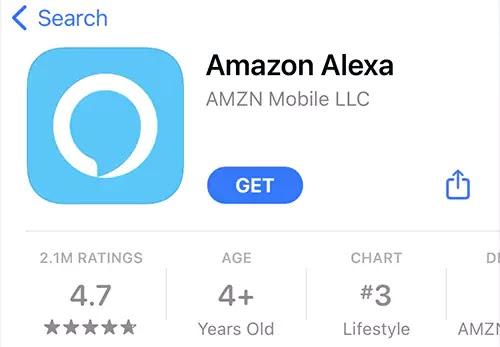 تطبيق amazon alexa