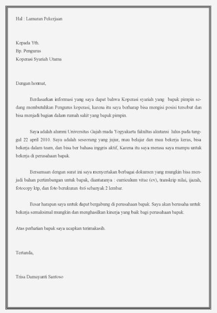 Contoh Surat Lamaran Kerja di Toko (via: medium.com)