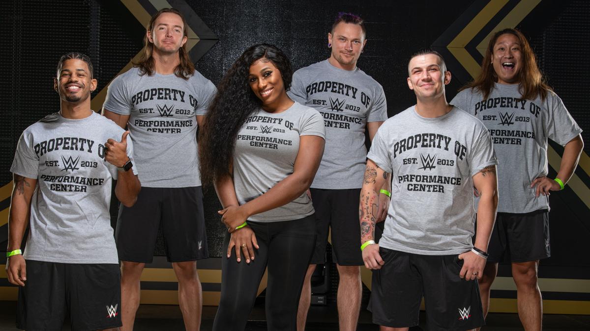WWE anuncia nova safra de contratados