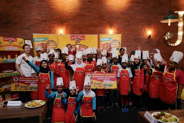 Kempen Penyayang Komuniti Ayam Brand™ 2019 Bawa Mesej Nutrisi Seimbang Ke Negeri Johor untuk Menangani Masalah Obesiti dalam Kalangan Kanak-Kanak
