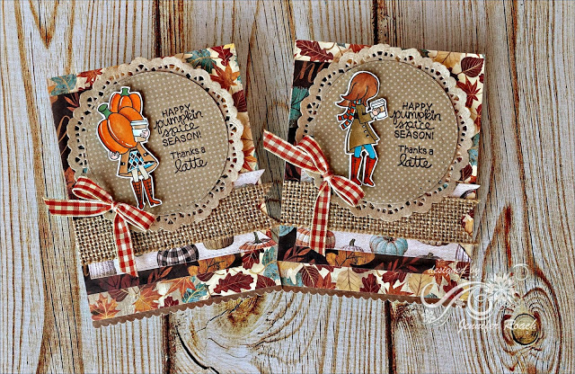 Happy pumpkin spice season by Jennifer R. features Pumpkin Latte by Newton's Nook Designs; #newtonsnook