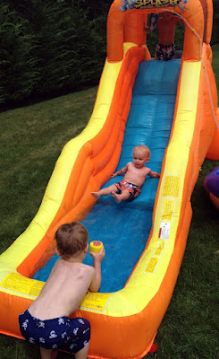 best_playdate_ever Water Slide at Play Date