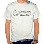 Kaos Distro Keren Avengers SK15 Asli Cotton