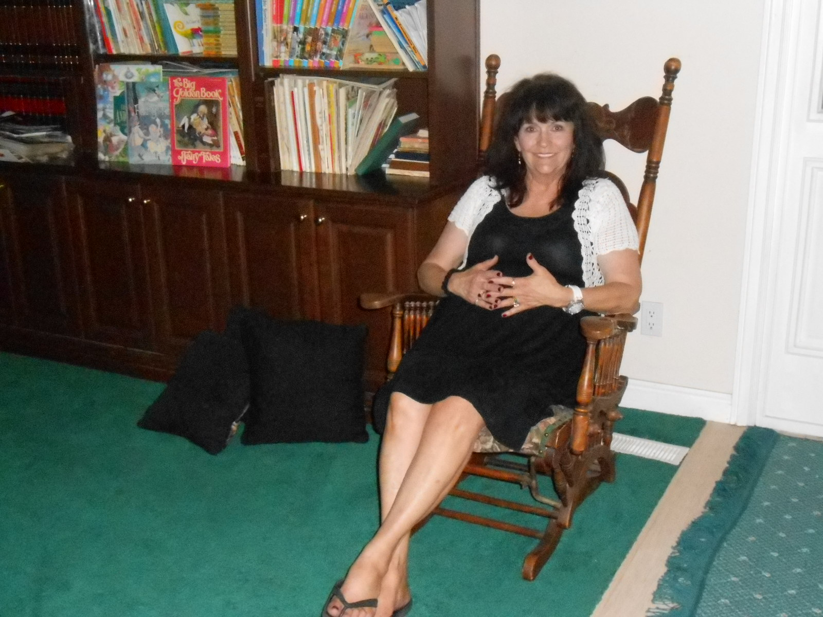 Aunt Priscilla Has A Rocking Chair Hydraulic Recline Barber The School Of Good Enough Wixom Keepsakes Part 3