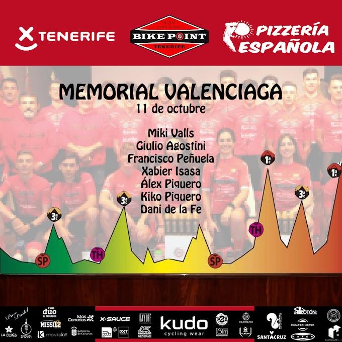 El Tenerife BikePoint Pizzería Española disputará el Memorial Valenciaga