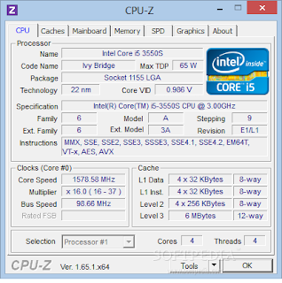 Download CPU-Z 1.80 Terbaru