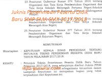 Juknis Penerimaan Peserta Didik Baru SMP SMA SMK 2017/2018
