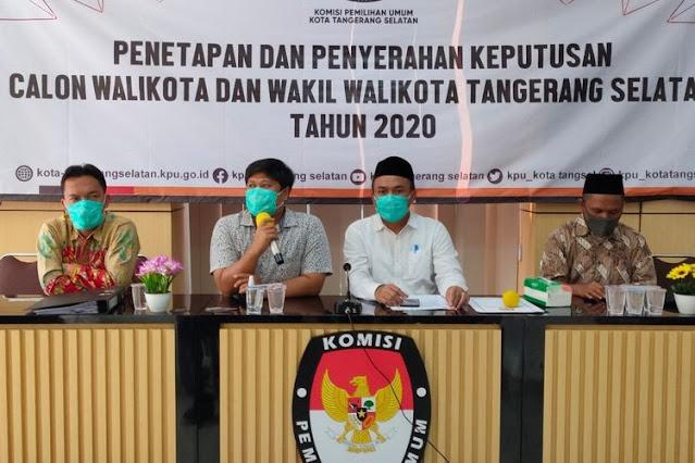 Ketua KPU Tangsel Meninggal Covid Baru Diumumkan Usai Pilkada, Plh: Biar Partisipasi Pemilih Tidak Turun