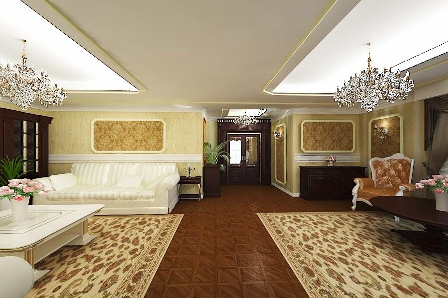 Amenajari - interioare - case - clasice - de - lux - Bucuresti