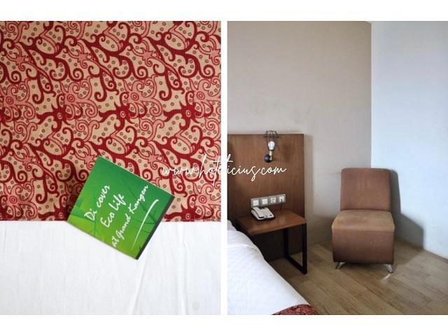 sofa di sudut kamar deluxe