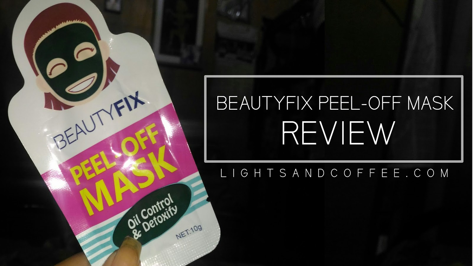 Peel-Off Mask by Beauty Fix Review