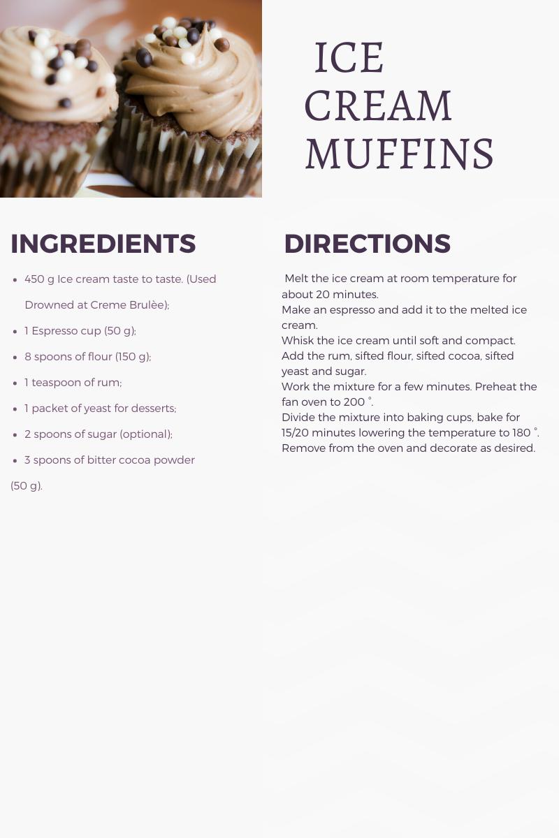 icecream+recicle+muffin