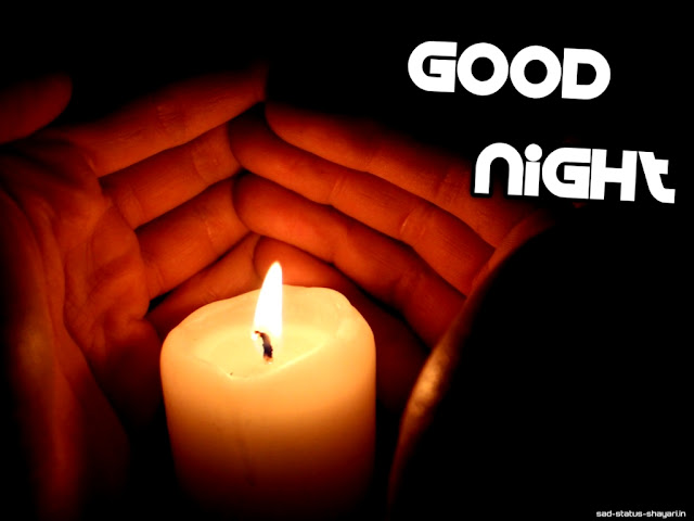 Good night images candle